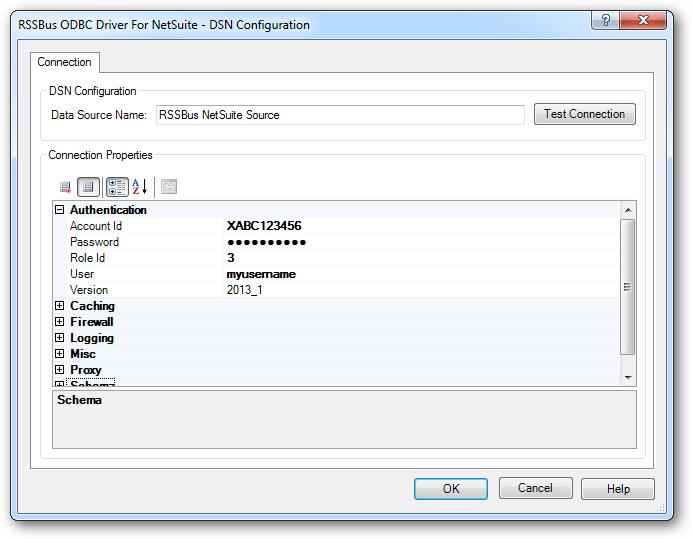 data source name driver id